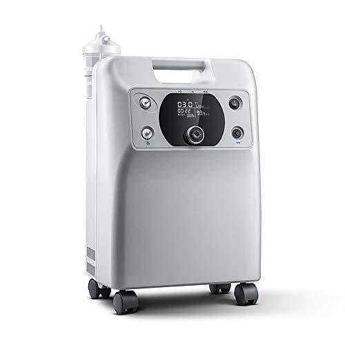 JL Sauerstoff-Generator, Heim Sauerstoffkonzentrator Sauerstoffkonzentration Test for Ältere Schwangere Frauen Kleine tragbare Sauerstoffkonzentrator Sauerstoff-Maschine