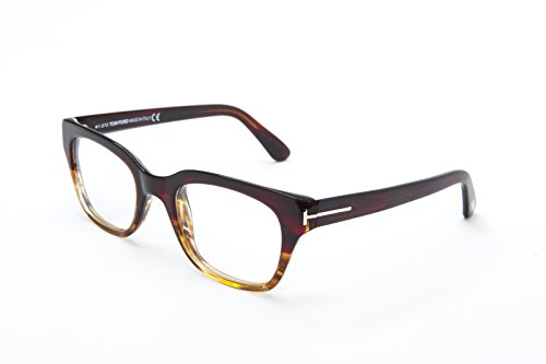 Tom Ford para hombre FT5240–098, funda lentes Caliber 49