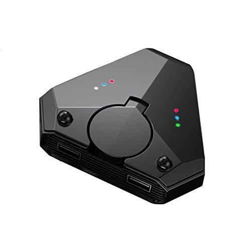 RUIHUA Bluetooth 5.0 Gamepad Keyboard Convertidor de ratón, PUBG Mobile Android Pubg Controller Battledock Mobile Controller Gaming para iOS iPad a PC