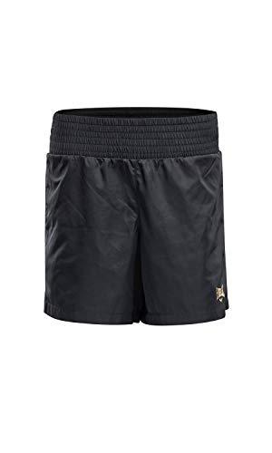 Everlast Sports - Pantalones Cortos para Mujer, Mujer, Pantalones Cortos, 804100-50, Negro, XS