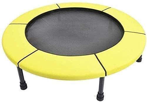 TAIDENG Trampolín plegable de 40 pulgadas plegable pequeño trampolín de fitness con pasamanos de espuma ajustable para entrenamiento y ejercicio para adultos y niños