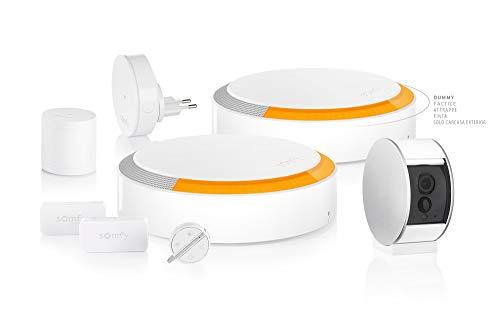 Somfy 1870288 - Alarma de vídeo para casa inalámbrica conectada con cámara de vigilancia | Somfy Protect | Compatible con Amazon Alexa, Google y Tahoma