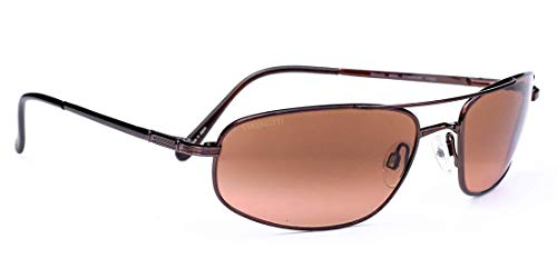 Serengeti Velocity Sunglasses (Aviator), Titanium Non Polarized Drivers Gradient Lenses
