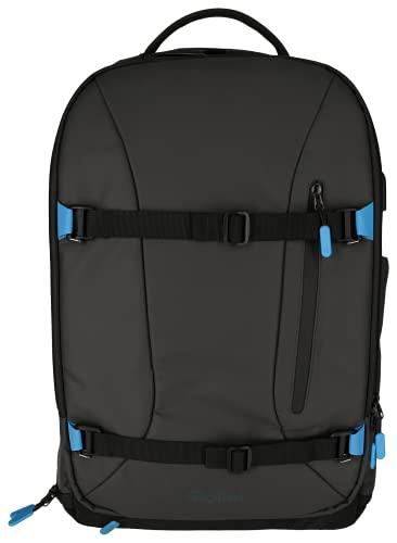 Rollei Fotoliner Ocean Pro ,professioneller Kamerarucksack aus recyceltem Plastik für DSLR und DSLM Kameras,als Handgepäck geeigneter umweltfreundlicher daypack in schwarz