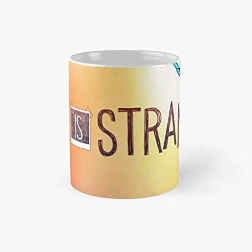 Taza clásica de Back to The Past | El mejor regalo divertidas tazas de café de 325 ml