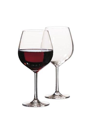 Bohemia Cristal Grand Gourmet Weinglas 6 Stück in Einer Geschenkbox, Fassungsvermögen 695 Milliliter, Einheitsgröße