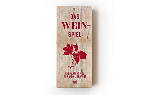 Das Wein-Spiel. Ein Kartenspiel für Wein-Liebhaber