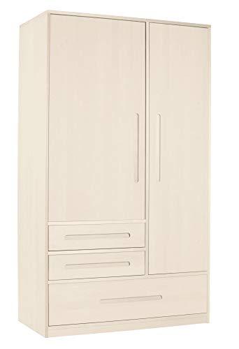 BioKinder - Das gesunde Kinderzimmer Schrank Kleiderschrank, Farbe:Weiß