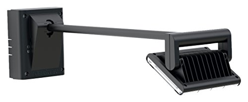 Steinel LED Strahler XLED FL-50 schwarz, LED Flächenstrahler mit Dämmerungssensor, für die Beleuchtung von Außenwerbung