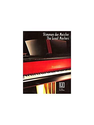 Stimmen der Meister, für Klavier