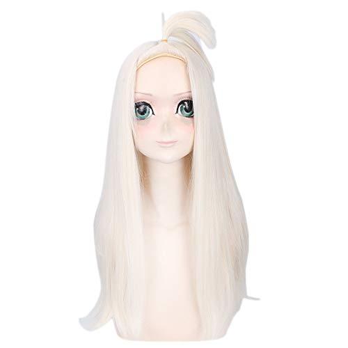 Anime Fairy Tail Mirajane Strauss larga peluca Cosplay disfraz resistente al calor pelo sinttico mujeres Cosplay pelucas