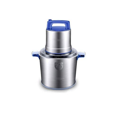 YWSZJ Chopper eléctrica, procesador de Alimentos con la Cuchilla de Titanio Recubierto y tazón de Acero Inoxidable, de Alta Velocidad Cocina máquina de Picar Carne