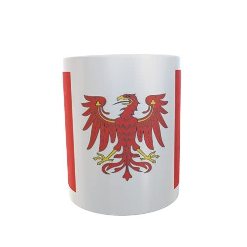 U24 Tasse Kaffeebecher Mug Cup Flagge Burg Stargard