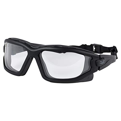 Valken Airsoft Zulu Thermal Lens Goggles - Slim Fit, Clear Lens