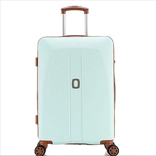 Fashion backpack Portable Suitcase Trolley Trolley case Luggage Suitcase Caster Lockbox Green Girl Students Multifunctional Lightweight Suitcase Suitable for outdoor, camping, office, school
