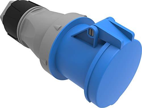 Bemis Cee Kupplung 3x63A. (2P+E) 220V. 50/60 Hz. 6h IP44 - Blau