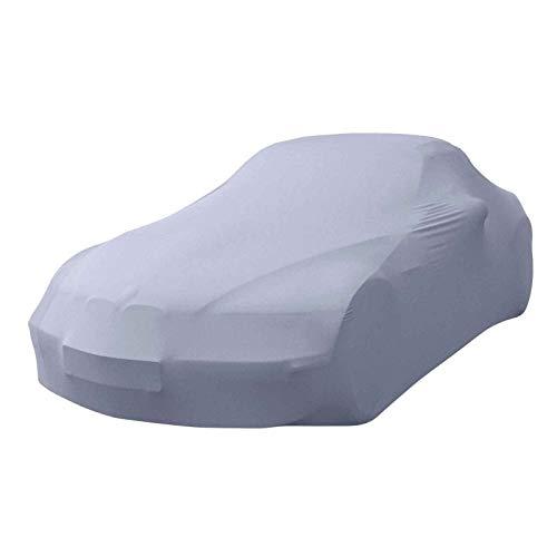 Autoplane passend für VW Beetle Cabriolet 5C7, 5C8 Premium Indoor Plane formanpassend atmungsaktiv aus Stoff in Grau