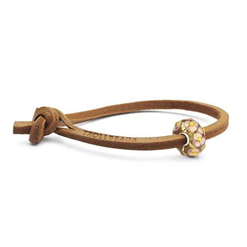 Thun by Trollbeads bracciale regalo per lei cuoio TLEBO-00246