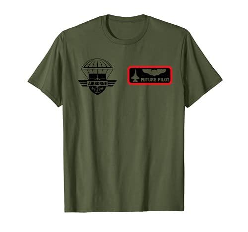 Avin piloto piloto piloto piloto piloto Halloween disfraz militar Camiseta