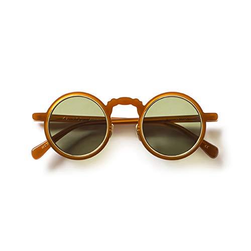 KALEOS Sunglasses Ballinger 4 C. 004 Vintage Havana Silver Green 45 100% Authentic New