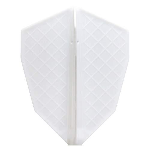 Cosmo darts flights v series s-4 white