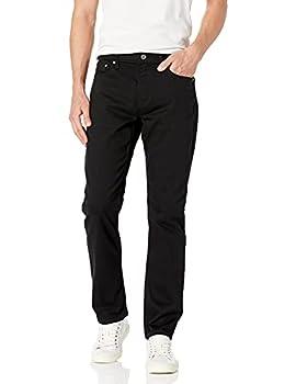 Calvin Klein Men s Straight Fit Jeans Forever Black 34x32