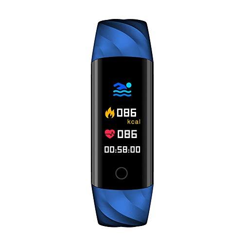 SUPEWOLD S5Fitness Tracker, IP68Impermeabile Touch Screen Smart Braccialetto elettronico cardiofrequenzimetro, contapassi, sedentario promemoria chiamate per Android 5.1, iOS 8.0e Superiori.
