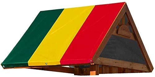 Baogu 132x226cm Kinderspielplatz Schaukeldach Dach Sonnenschutz Ersatzplane Camping Zelt Planen