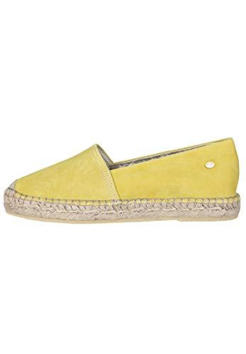 Fred de la Bretoniere Damen Espadrille Loafer Emblem