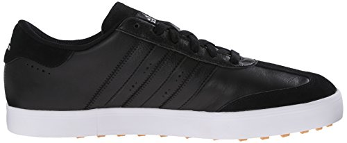 adidas Men's Adicross V Golf Shoe, Black/White, 10.5 M US