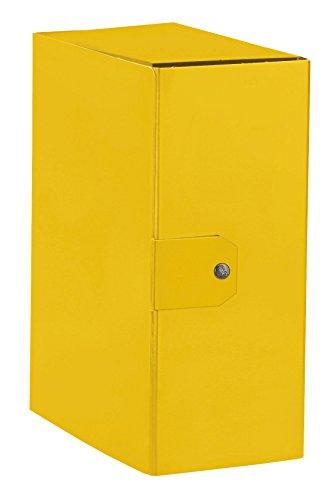 ESSELTE C95 DELSO ORDER cartella progetti - dim. 25 x 35 cm dorso 15 cm - Giallo - 1 pezzo - 390395090