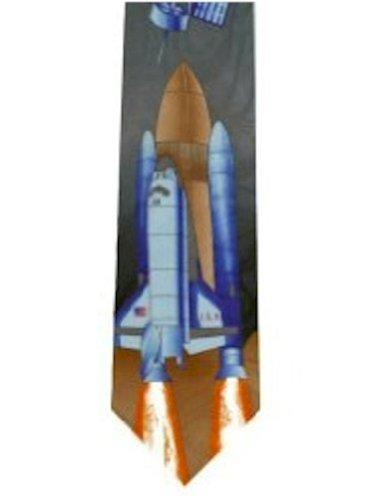TIE Studio Neuf Krawatte - Space Shuttle Design