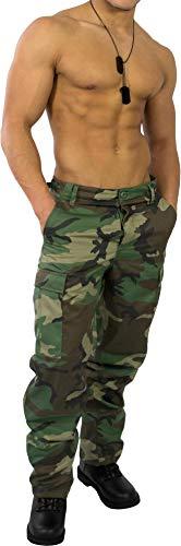 US Rangerhose Freizeithose Rangerhose BDU Style Farbe Wood-Land Größe XL