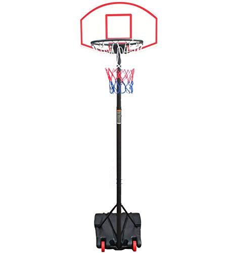 Hmcozy Portátil de Altura Ajustable del Soporte del aro de Baloncesto, Tablero Trasero 28 Pulgadas, Objetivos de Baloncesto al Aire Libre de Interior