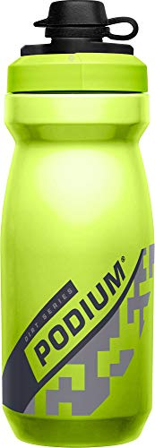 CamelBak Podium Dirt Series Bike Water Bottle - Squeeze Bottle - 21oz, Lime, 1902301062