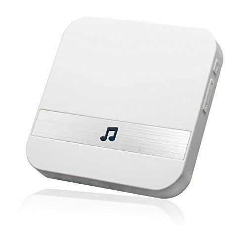 Multi-tone Plug-in Doorbell Chime for Wireless Video Doorbell V5, V6 and V7 (White)