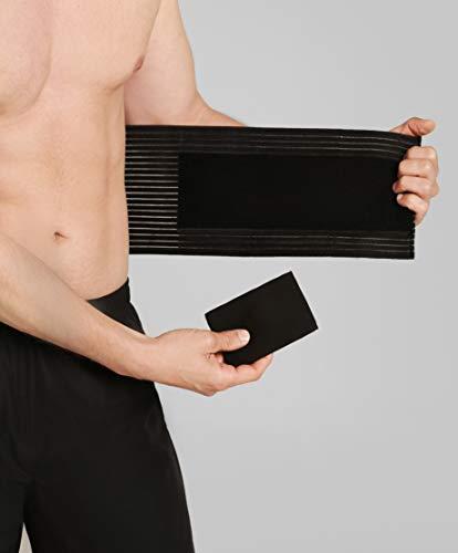BeFit24® Nabelbruchbandage für Herren und Damen - Bauchgurt nach Op - Nabelbruch Bandage - Bauchbinde nach Operation - Nabelbruch Gürtel - Nabelbinden - Nabelbruchband - Umbilical Hernia Belt