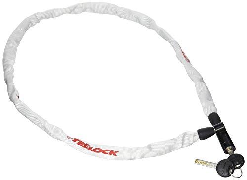 Trelock Candado Cadena S/SOP.110Cm4Mm Blanco