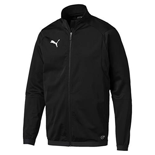 Puma Herren LIGA Training Jacket Jacke, Schwarz Black White, L