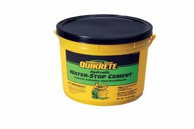 Quikrete Hydraulic Water- Stop Cement 3 - 5 Min 10 Lb
