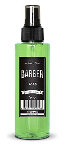 MARMARA BARBER Eau de Cologne Spray BETA Hommes 150ml After Shave Men Eau de Rasage Hommes, Rafraîchit frais à longs parfums kolonya coiffeur