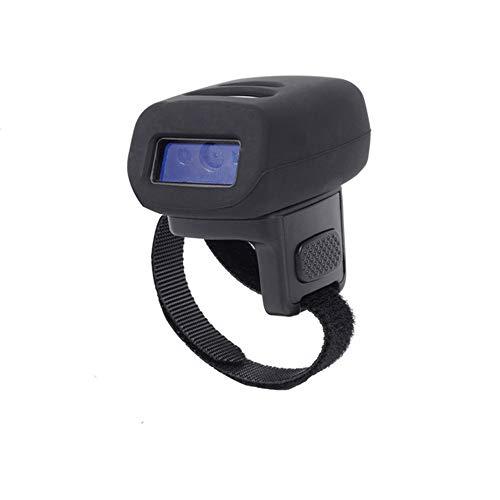 XALO Scanner sans Fil, Scanner De Codes À Barres 2D 2.4G Bluetooth Lecteur d'image USB Portable, pour Les Hôpitaux, Les Bibliothèques, La Livraison Express, Entrepôts