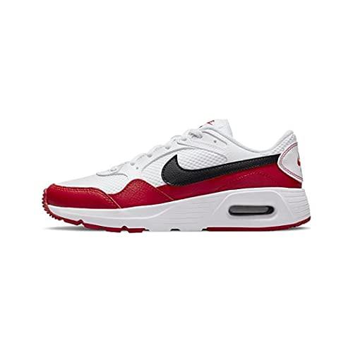 Nike Air Max SC, Scarpe da Corsa, White/Black-University Red, 37.5 EU