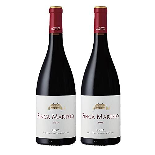 Vino tinto Martelo Reserva de 75 cl - D.O. La Rioja - Bodegas Torre de Oña (Pack de 2 botellas)