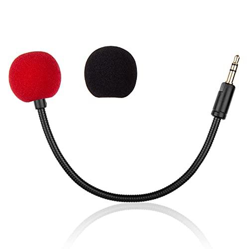 Mikrofon Ersatz für Razer Electra V2 7.1 Gaming Headset, abnehmbares Mikrofon, Gaming Headset auf PS5, PS4, PC, Xbox, Noise Cancelling 3,5 mm, Schwarz