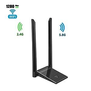 Amazon.com: Adaptador WiFi Hannord para PC AC600Mpbs de ...