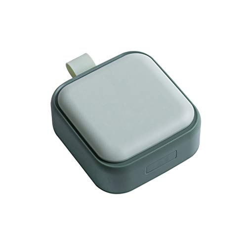 Mingtongli Pill Box 4 Rejillas Caso de Almacenamiento de la Tableta portátil de la píldora del Recorrido Divisor Organizador de contenedores, Verde