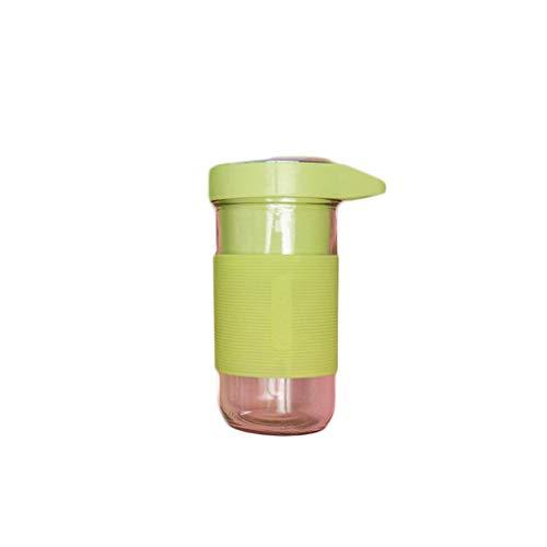 ZLJ Portable Glass USB Blender for Battery Powered Juicer Cup Protein Shaker Vortex Mixer