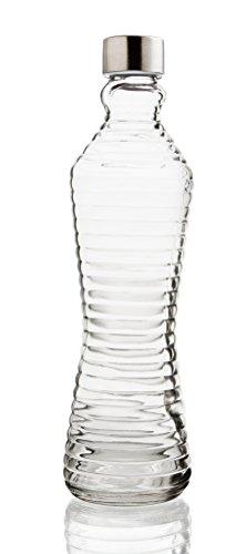 Quid Line–Flasche mit Deckel 8.5x8.5x31 cm durchsichtig