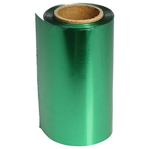 Sibel Papier Alu Meches 12Cm Vert 100 M 15 Mu